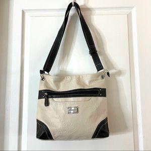 Like new Stone & Co bone and black bag
